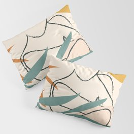 Minimal Line in Nature II Pillow Sham
