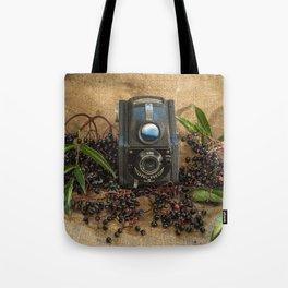 Ensign and the Elderberries Tote Bag