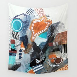 Architectural Wall Tapestry