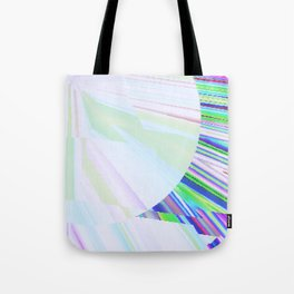 Frayed Fractal Tote Bag
