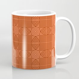 Op Art 18 - Coral Coffee Mug