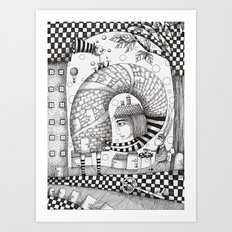 There will be Nonsense in it Art Print