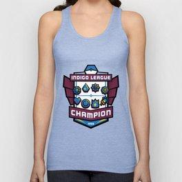 Indigo League Champion - Blue Version Unisex Tank Top