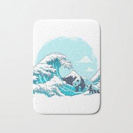 Ice Wave Bath Mat