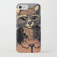 rocket iPhone & iPod Cases featuring Rocket by Jaz Mimms