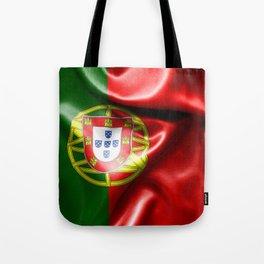 Portugal Flag Tote Bag