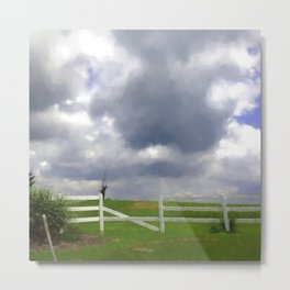 One Hot Summer Day Metal Print