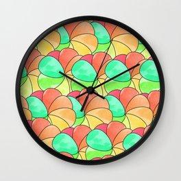 Pinwheels! Wall Clock
