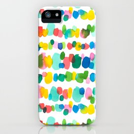 Paradise Dots iPhone Case