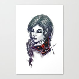 Cecropia Canvas Print