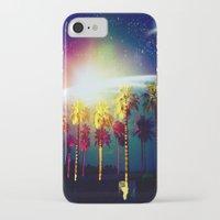 coachella iPhone & iPod Cases featuring Coachella Palms by Jason Chase