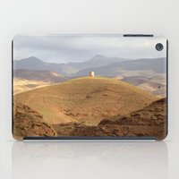 greg guillemin iPad Cases featuring Greg Katz Morocco landscape  by Artlala for MSF Doctors Without Borders