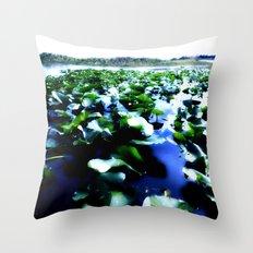 tropical botanica Throw Pillow