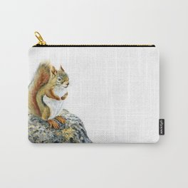 Bright-eyed and Bushy-tailed by Teresa Thompson Carry-All Pouch