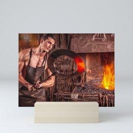 Sexy Blacksmith Mini Art Print