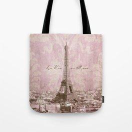 romantic Paris Tote Bag
