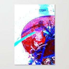 Screwed Canvas Print