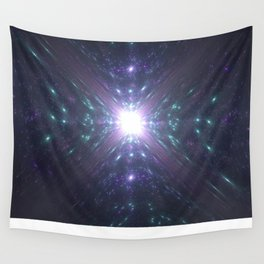 Looking at the Universe Through a Diamond Wall Tapestry