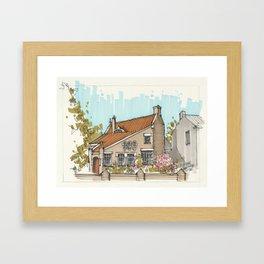 Magic House In Blerick Framed Art Print