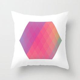 Hexagon? Throw Pillow