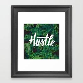 Miami Hustle Framed Art Print
