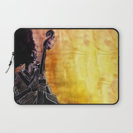 Make Coffee Love and Jazz Laptop Sleeve