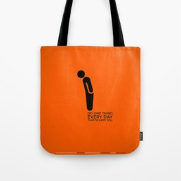 Sunscreen / Do one thing that scares you Tote Bag