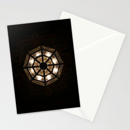 Shine Bright Dark Night - Geometry of Light Stationery Cards