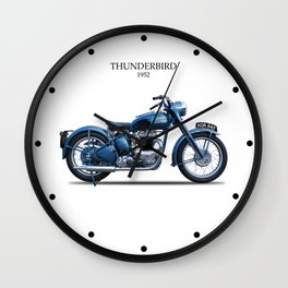 The 1952 Thunderbird Wall Clock