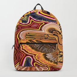 The Yellow-Tail and Kookaburra Spirits Backpack
