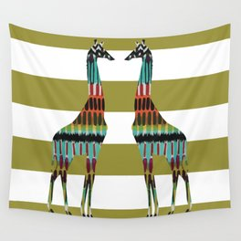 Safari Stripes Wall Tapestry