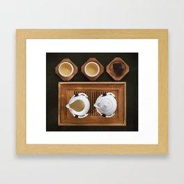 Gong Fu Cha Framed Art Print