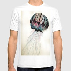 Jelly Mens Fitted Tee MEDIUM White
