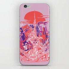 Smash! Zap!! Zooom!! - Big-Boobed Babe iPhone & iPod Skin