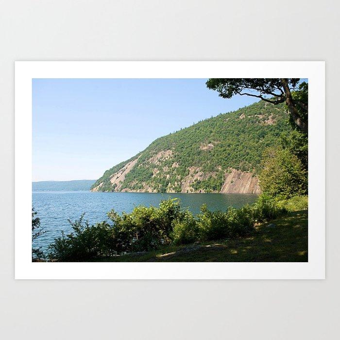 Roger's Rock on Lake George, NY Kunstdrucke