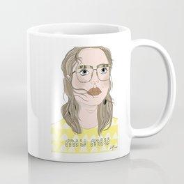Girl with glasses Coffee Mug