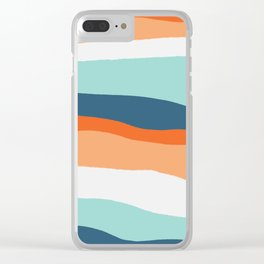 venice sunset Clear iPhone Case