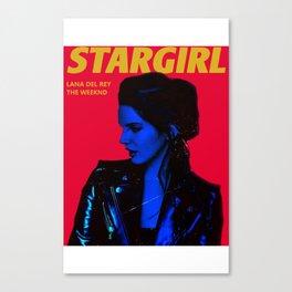 LA NA DEL REY STARGIRL Canvas Print