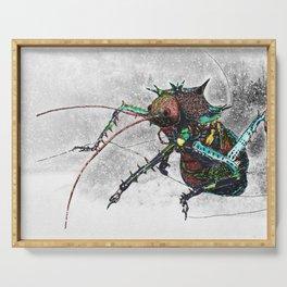 Frozen Beetle Serving Tray
