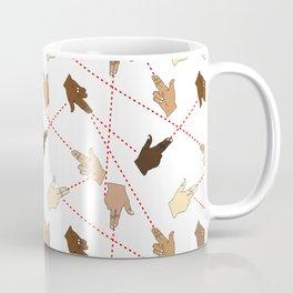 finger guns Coffee Mug