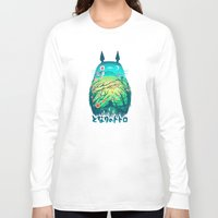 frame Long Sleeve T-shirts featuring He Is My Neighbor by Victor Vercesi