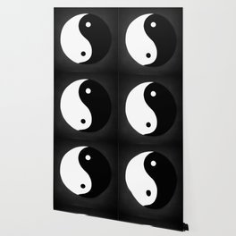 Yin and Yang BW Wallpaper