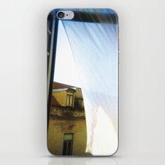 beyond the curtain iPhone & iPod Skin