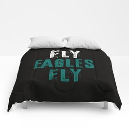Fly Eagles Fly Comforters
