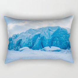 Spencer Glacier, Alaska Rectangular Pillow