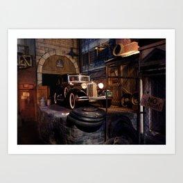 HOLLYWOOD STUDIOS: Great Movie Ride (1) Art Print