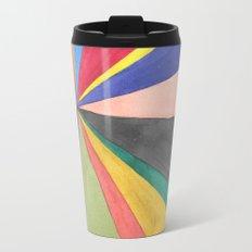 Watercolor Pinwheel Robayre Travel Mug