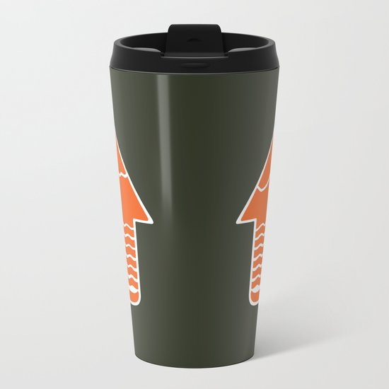 TAKE A HIKE Metal Travel Mug