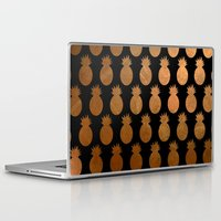 pineapples Laptop & iPad Skins featuring Pineapples by The Wellington Boot