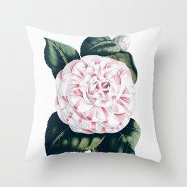 Vintage Botanic Throw Pillow